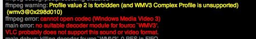 VLC non ce la fa