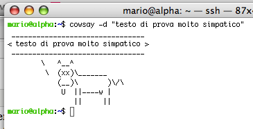 cowsay m