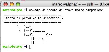 cowsay b